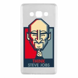 Чехол для Samsung A7 2015 Think Steve Jobs