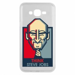 Чехол для Samsung J7 2015 Think Steve Jobs