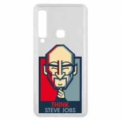Чехол для Samsung A9 2018 Think Steve Jobs