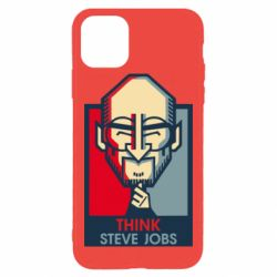 Чехол для iPhone 11 Pro Max Think Steve Jobs