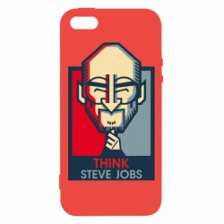 Чехол для iPhone5/5S/SE Think Steve Jobs