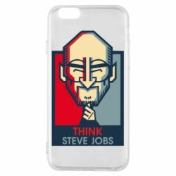 Чехол для iPhone 6/6S Think Steve Jobs