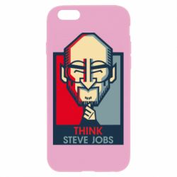 Чехол для iPhone 6 Plus/6S Plus Think Steve Jobs
