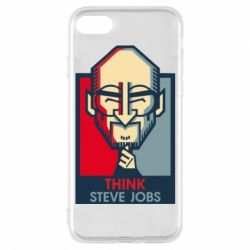 Чехол для iPhone 7 Think Steve Jobs