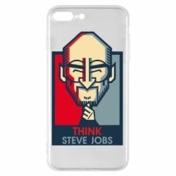 Чехол для iPhone 8 Plus Think Steve Jobs