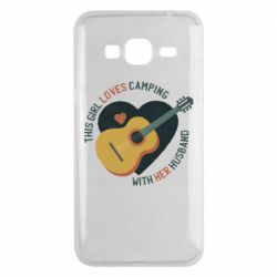 Чохол для Samsung J3 2016 This girl loves camping with her husband