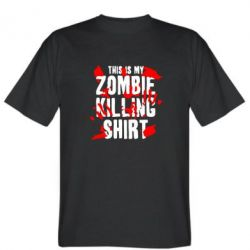 Мужская футболка This is my zombie killing shirt - FatLine