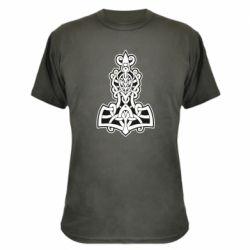 Камуфляжная футболка Thors hammer
