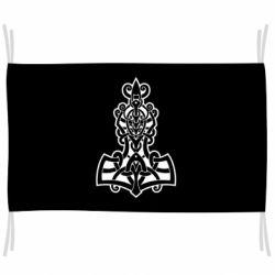 Флаг Thors hammer