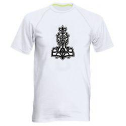 Мужская спортивная футболка Thors hammer