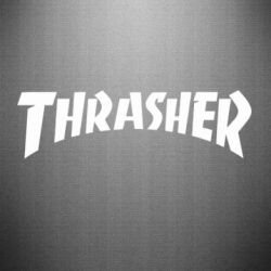 Наклейка Thrasher Logo - FatLine