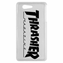 Чехол для Sony Xperia Z3 mini Thrasher Magazine - FatLine