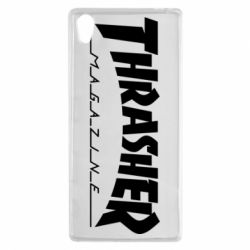 Чехол для Sony Xperia Z5 Thrasher Magazine - FatLine