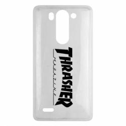 Чехол для LG G3 mini/G3s Thrasher Magazine - FatLine