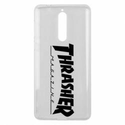 Чехол для Nokia 8 Thrasher Magazine - FatLine