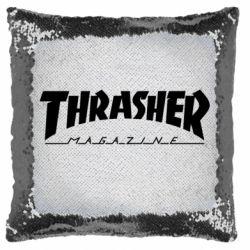 Подушка-хамелеон Thrasher Magazine