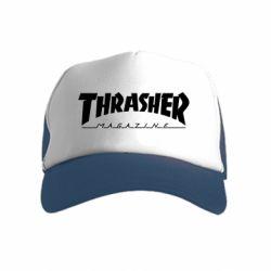 Дитяча кепка-тракер Thrasher Magazine