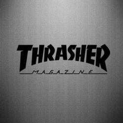 Наклейка Thrasher Magazine - FatLine