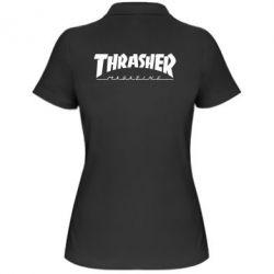 Женская футболка поло Thrasher Magazine