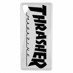Чехол для Sony Xperia X Thrasher Magazine - FatLine