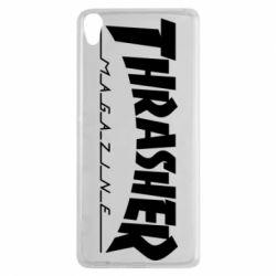 Чехол для Sony Xperia XA Thrasher Magazine - FatLine
