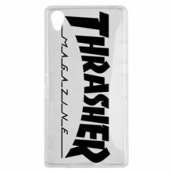 Чехол для Sony Xperia Z1 Thrasher Magazine - FatLine