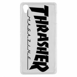 Чехол для Sony Xperia Z3 Thrasher Magazine - FatLine