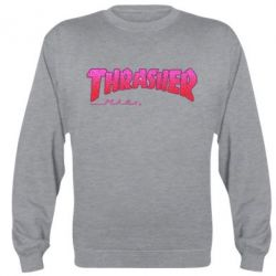 Реглан (свитшот) Thrasher Pink - FatLine