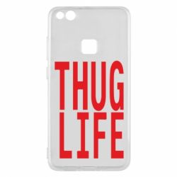 Чехол для Huawei P10 Lite thug life - FatLine
