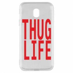 Чехол для Samsung J3 2017 thug life