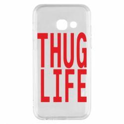 Чехол для Samsung A3 2017 thug life