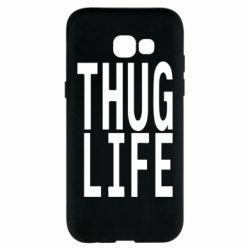 Чехол для Samsung A5 2017 thug life
