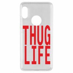 Чехол для Xiaomi Redmi Note 5 thug life - FatLine