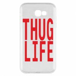 Чехол для Samsung A7 2017 thug life