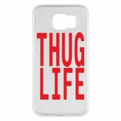 Чехол для Samsung S6 thug life