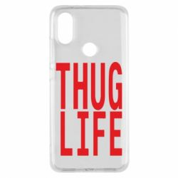 Чехол для Xiaomi Mi A2 thug life