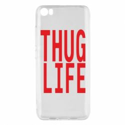 Чехол для Xiaomi Mi5/Mi5 Pro thug life