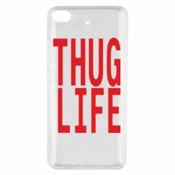 Чехол для Xiaomi Mi 5s thug life