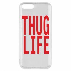 Чехол для Xiaomi Mi6 thug life