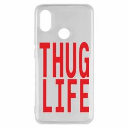 Чехол для Xiaomi Mi8 thug life
