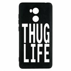 Чехол для Xiaomi Redmi 4 Pro/Prime thug life - FatLine