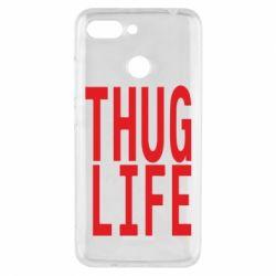 Чехол для Xiaomi Redmi 6 thug life - FatLine