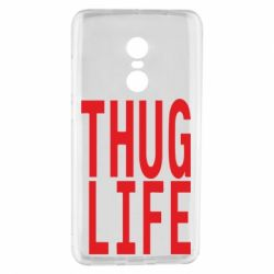 Чехол для Xiaomi Redmi Note 4 thug life - FatLine