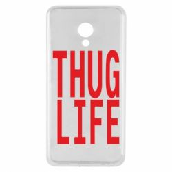 Чехол для Meizu M5 thug life - FatLine