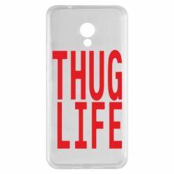 Чехол для Meizu M5s thug life - FatLine