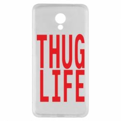 Чехол для Meizu M5 Note thug life - FatLine
