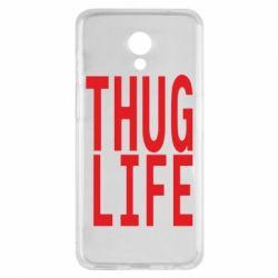 Чехол для Meizu M6s thug life - FatLine