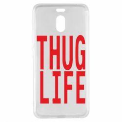 Чехол для Meizu M6 Note thug life - FatLine