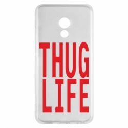 Чехол для Meizu Pro 6 thug life - FatLine