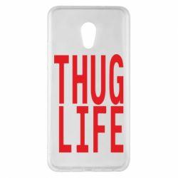 Чехол для Meizu Pro 6 Plus thug life - FatLine